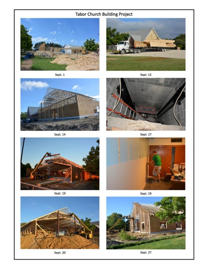 building updates - Sept. 28